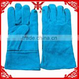 leather welding gloves fully lined with terry mining safety equipment