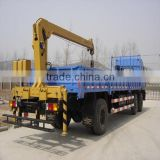 best price sale SQ4SA2 swivel manual boom small crane for tractor/tyre mounted crane machine for sale 4ton lifting crane