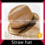 Beach straw cowboy hat
