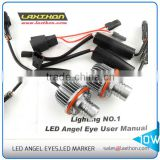Hot selling CE approved 10W E39 led angel eyes led marker for BMW