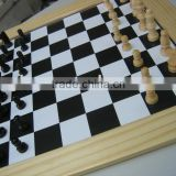 #8 Wholesale Cheap Antique Wooden International Chess Sets