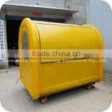2014 Hot Selling Fiberglass Hot Dog Cooking Ice Cream Food Cart Stand Equipment XR-FC220 A