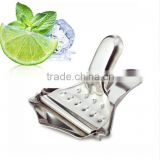 stainless steel hand press juicer