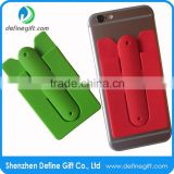 Factory Supply 3m Sticky Silicone Slap Mobile Phone Card Holder Stand                                                                                                         Supplier's Choice