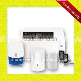 International wireless burglar alarm system with Remote monitor feature