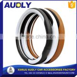 Accessories interior decoration Customized Plastic Black Car Steering Wheel Cover
