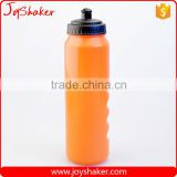 Orange Color Custom Logo Food Safe Plastic Water Bottle BPA Free 1000ML from JoyShaker Factory