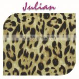 black light yellow N2020 leopard ultr thin plain pattern nylon spandex wholesale tulle fabric