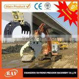 small log grapple for excavator