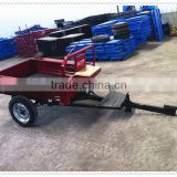7C-1 farm trailer for walking tractor, power tiller trailer for sale