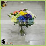 Romantic and Cheap Artificial Flower Fabric with Chrysanthemum Flower Wedding Table Decoration
