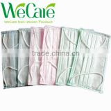 Disposable Non woven surgical 3-ply blue Hygienic Sanitary face mask with earloop 17.5*9.5cm