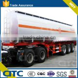 oil tanker semi trailer CITC used for oil water liquid goods transportation/60000L crude oil transport trailer, petroleum truck