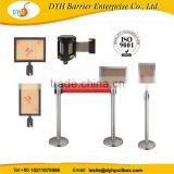 Airport stainless steel crowd control barrier,Station stanchion,q manager stand                                                                         Quality Choice