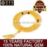A generation of Baltic Sea natural beeswax hand string bead bracelet beads gemstone jewelry 108 multi-layer multi circle