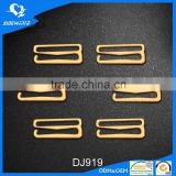 bra slider metal zinc alloy strap buckle adjuster hooks