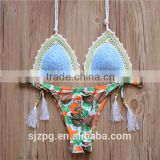 Sexy Handmade Crochet Brazilian Bikini New Swimwear Swimsuit                                                                         Quality Choice