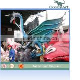 Chinese outdoor decoration animatronic dragon statue