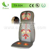 Infrared Shiatsu Car Seat Massage Cushion Pedicure Foot Spa Massage Chair for Neck and Back TX-504