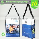 Premium Quality Impressive Echo Portable Non Woven Laminated Typical Expo Shoulder Crossbody Conference Messenger Bag