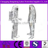Heat protective suit coverall / fire retardant clothes/ waterproof heatproof fireproof clothes