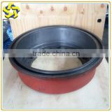 XCMG GR2115 Motor Grader spare parts PY180 Brake Drum 80513002 for Meritor axle parts Liugong Grader spare parts drums