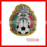 Custom soccer patches and blazer badge embroidery and emblems 3d woven label                                                                         Quality Choice