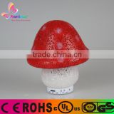oyster mushroom mini wedding promotive gift stereo led bluetooth speaker