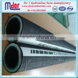 Mder 4SH 4SP SAE and DIN steel wire inforced spiraled hydraulic rubber tube
