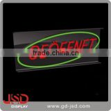Open LED sign, led display signs, led backlit signs