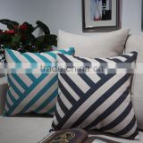 Personalised custom throw window seat cushions plain geometric printed pillows covers lumbar support cushion