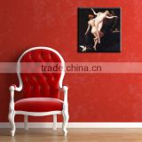 Home decor ballerina oil painting bathroom pictures