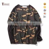 long sleeve camouflage t shirt camo sweatshirt without hood