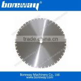Boreway high quality diamond brazed saw blade for cutting concrete wall