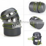 Cooking Picnic Cookware Bowl Pot Set Outdoor Backpacking Camping Tool Kit