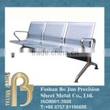 Custom stainless steel waiting room chairs manufacturer