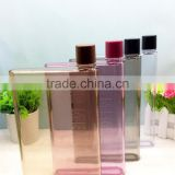 Fashion Printing BPA Free 3D Lenticular Printing Empty Plastic Water Bottles Wholesale A5 MEMO 420ml water bottle