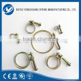 Cheap Wholesale High Quality Carbon Steel Double Wire Wide Hose Clamps