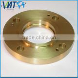 High precision customized brass pipe flange spacer