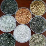 Natural Raw Mica Rock , Mica Flakes 6 - 10mesh For Well Drilling