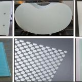 the SGCC  CE CSI ceritification of printed toughened glass for table top