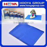 Customized SIZE: 40*30CM Blue Pet Dog Self Cooling Mat Pad for Kennels, Crates and Beds in Summer