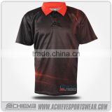 Professional OEM stylish cricket team name jersey design sublimation