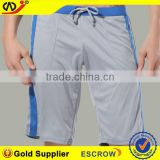 100 polyester sports hot pants 3/4 sport pants sport tight pants