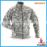 Hunting fleece jacket,weatherproof digital camo jacket