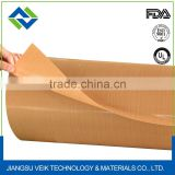 PTFE Teflon Kevlar fabric for conveyor belting for industrial processing black or yellow 0.13mm