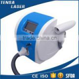 new style portable q switch nd:yag laser tattoo removal machine for sale