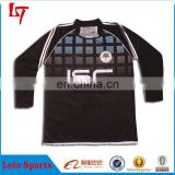 customized long sleeves rugby football jerseys/wear/jumper/shirt sublimation print rugby jersey