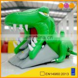 AOQI products amazing cayman inflatable obstacle tunnel/pvc cheap inflatable tunnel