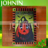 ODM 12*18 inch Polyester Double Layer Decorative Happy Holloween Garden Flag
